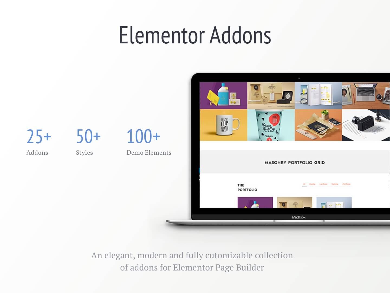 đa dạng addons cho website