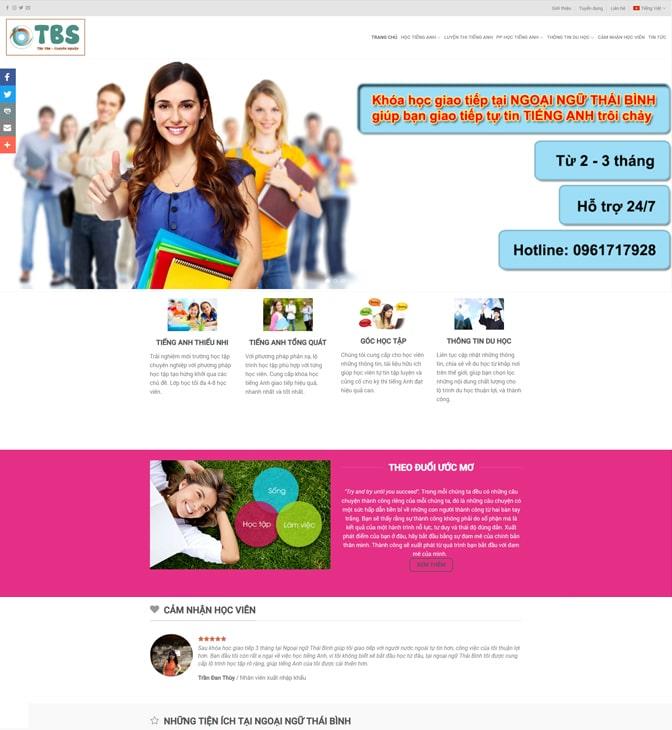 website giáo dục vinawebsite