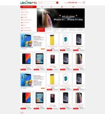 webste điện tử vinawebsite